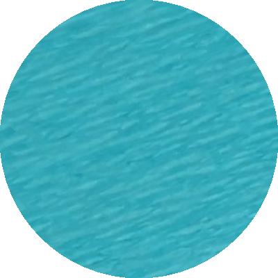 Découpe crépon bleu turquoise