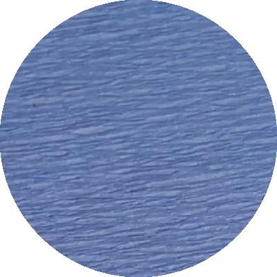 Découpe crépon bleu ciel