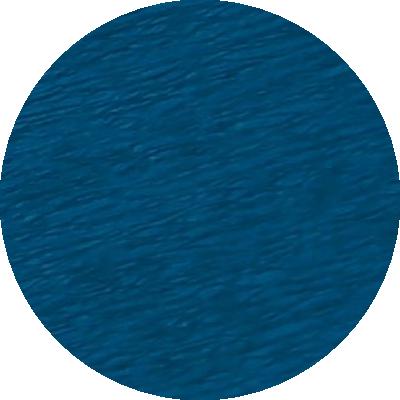Découpe crépon bleu pétrole