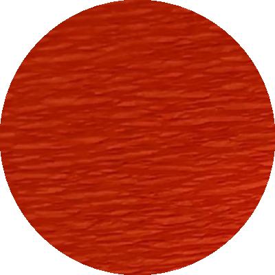 Découpe crépon orange