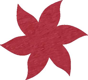 Fleur papier crépon rose saumon